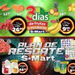 Frutas y Verduras S-Mart del 5 al 7 de febrero de 2019