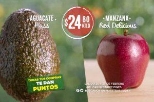 Ofertas Frutas y Verduras Soriana 26 y 27 de febrero 2019