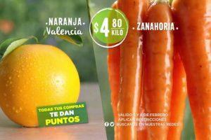 Frutas y Verduras Soriana 5 y 6 de febrero 2019