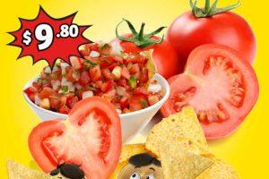 Frutas y Verduras Soriana Mercado del 12 al 14 de Febrero de 2019