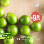 Frutas y Verduras Mega Soriana 26 y 27 de febrero 2019