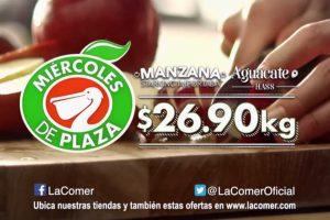 Miércoles de Plaza La Comer Frutas y Verduras 13 de Febrero 2019
