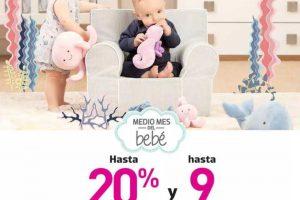 Promoción Liverpool Medio Mes del Bebé 2019: hasta 20% de descuento