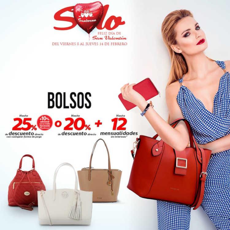 Promociones Sanborns Joyería, perfumería y bolsas San Valentín 2019