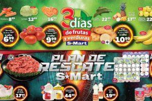 S-Mart Frutas y Verduras del 19 al 21 de febrero de 2019