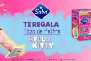 Saba Gratis tazas de peltre y Termos de Hello Kitty
