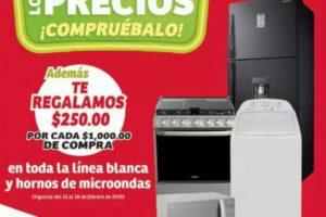 Ofertas Soriana y MEGA Soriana: $250 de descuento en línea blanca y hornos de microondas