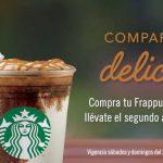 Starbucks: 50% de descuento en segundo frapuccino al 03 de marzo 2019