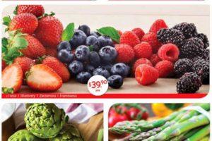Superama: frutas y verduras especiales de la quincena 1 al 14 de febrero 2019