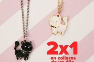 Promoción San Valentín Todomoda 2×1 en collares