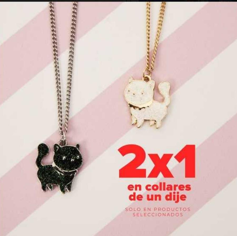 Promoción San Valentín Todomoda 2×1 en collares seleccionados