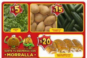 Ofertas Bodega Aurrerá Frutas y Verduras del 15 al 21 de Marzo 2019