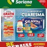Folleto Soriana rebajas y Ofertas de cuaresma del 1 al 7 de Marzo 2019