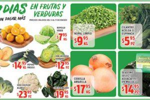 Frutas y Verduras HEB del 5 al 11 de Marzo de 2019