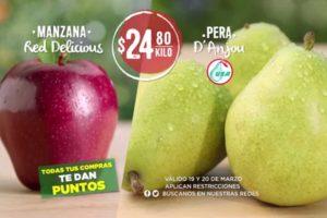 Frutas y Verduras Soriana 19 y 20 de marzo 2019