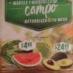 Frutas y Verduras Soriana 26 y 27 de marzo 2019
