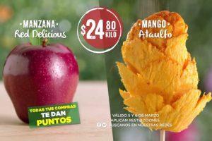 Ofertas Soriana Frutas y Verduras 5 y 6 de marzo 2019