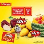 Frutas y Verduras Soriana Mercado del 5 al 7 de Marzo de 2019
