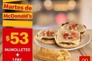 Cupones Martes de McDonald's 5 de Marzo de 2019