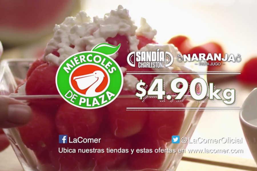 Miércoles de Plaza La Comer 20 de Marzo 2019