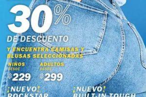 Old Navy 30% de descuento en todos los jeans y Shorts