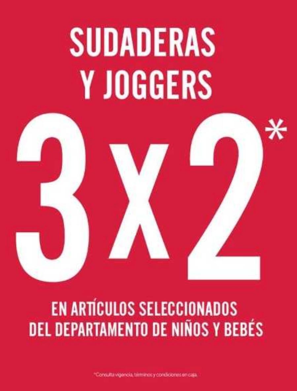 C&A: 3×2 en sudaderas y joggers para niños y bebes