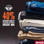 Sears 40% de descuento en pantalones Dockers Men