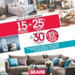 Sears: Hasta 30% de descuento en Muebles, Hogar, Línea Blanca y más