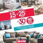 Sears: Promociones de Fin de Semana del 29 al 31 de Marzo de 2019