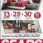 Sears Ofertas en Hogar y Tecnología 13 MSI + 25% descuento directo marzo 2019