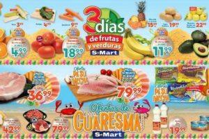 Frutas y Verduras S-Mart del 19 al 21 de marzo del 2019