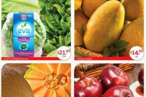 Superama: Especiales de la Quincena Frutas y Verduras 14 al 27 de Marzo 2019