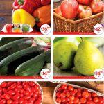 Ofertas Superama frutas y verduras especiales de la quincena al 13 de marzo 2019