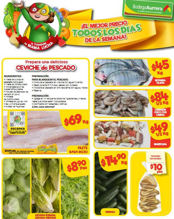 Bodega Aurrerá: Frutas y Verduras del 12 al 18 de Abril de 2019