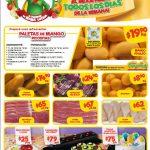 Ofertas Bodega Aurrerá en frutas y verduras Tianguis de Mamá Lucha 26 de abril al 2 de mayo 2019