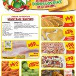 Bodega Aurrerá: Tianguis de Mamá Lucha Frutas y Verduras del 5 al 11 de abril 2019