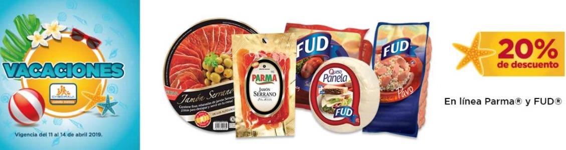 Chedraui: 20% de descuento en Línea Parma y Fud