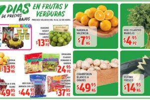 HEB Frutas y Verduras del 16 al 22 de Abril de 2019