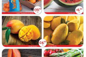Superama: Especiales de la quincena frutas y verduras 16 al 30 de abril 2019
