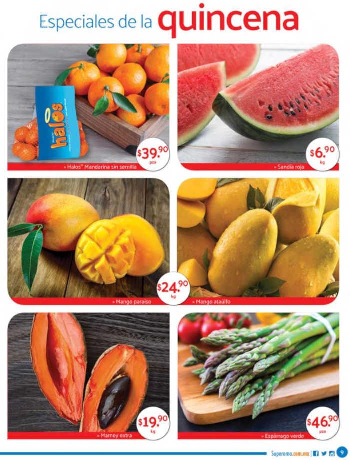 Superama: frutas y verduras especiales de la quincena 16 al 30 de abril 2019