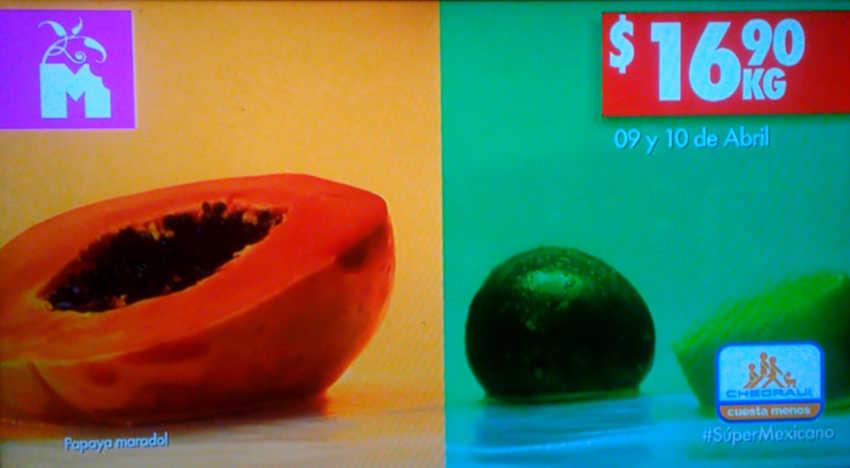 Frutas y Verduras Chedraui 9 y 10 de abril 2019