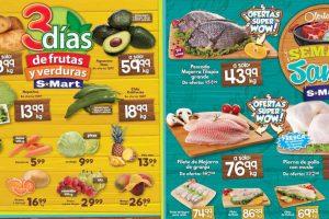 S-Mart Frutas y Verduras del 16 al 19 de Abril 2019