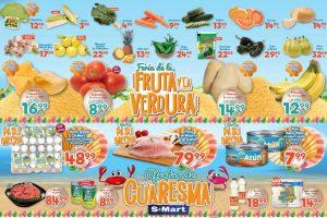 Frutas y Verduras S-Mart del 2 al 4 de Abril de 2019