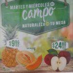 Frutas y Verduras Soriana 9 y 10 de abril de 2019