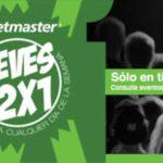 Promociones Jueves de 2x1 en Ticketmaster 25 de Abril de 2019