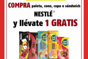 Oxxo – Paleta premium GRATIS en la compra de una paleta, cono, copa o sándwich Nestlé