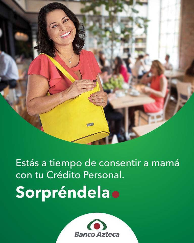 Promoción Banco Azteca Día de las Madres: bolsa Gratis con crédito personal