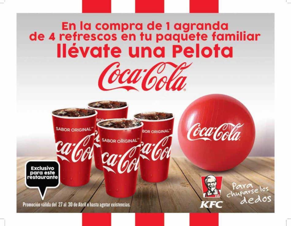 Promoción Coca-Cola y KFC Día del Niño 2019 llevate una pelota Gratis