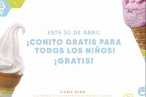 Promoción Nutrisa Día del Niño 2019: Conito GRATIS para todos los niños el 30 de abril