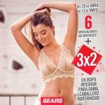 Promoción Sears: 3x2 en ropa interior del 25 de abril al 13 de mayo 2019